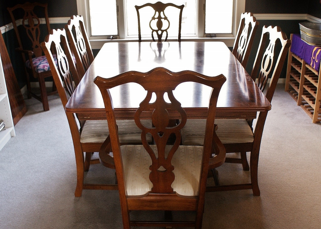Broyhill Chippendale Dining Set ...