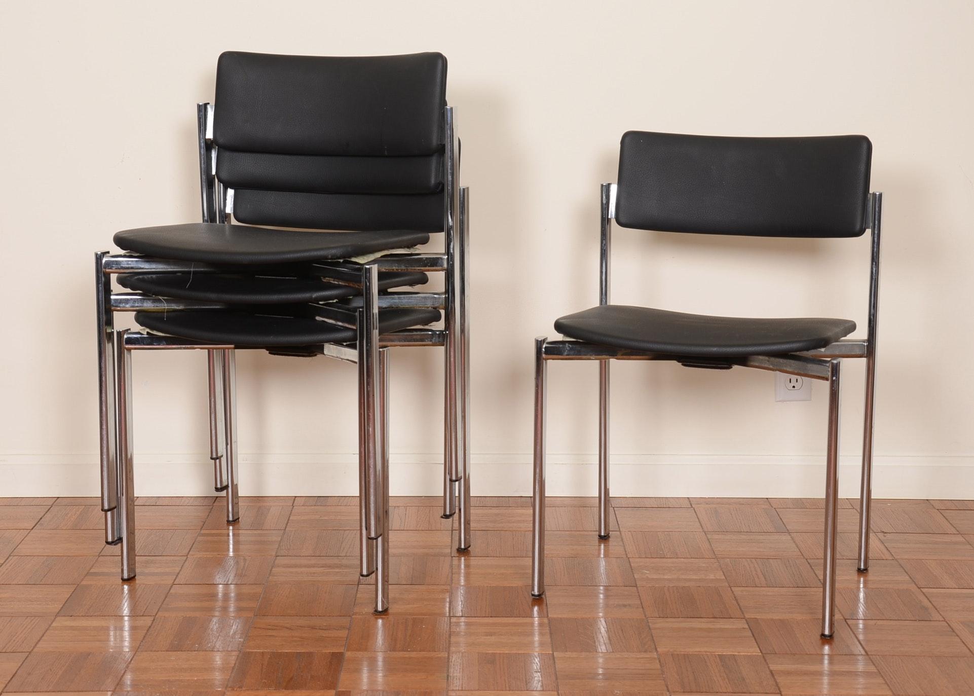 Vintage Stendig Mid Century Modern Side Chairs ...