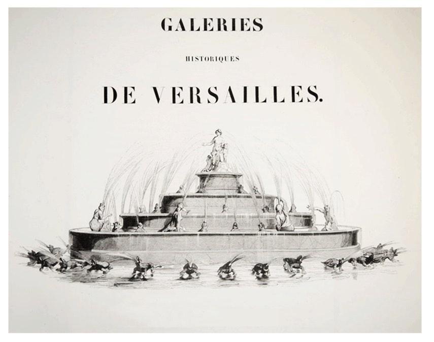 "19th c. 10 Vol. Folio Collection ""Galeries Historique de Versailles"", C. Gavard"