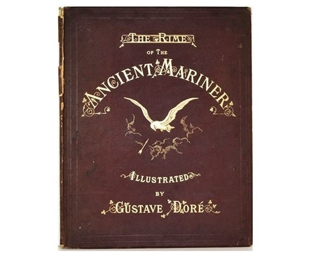 "An 1884 Folio Publication ""The Rime Of The Ancient Mariner"", Illustrated by Dore"