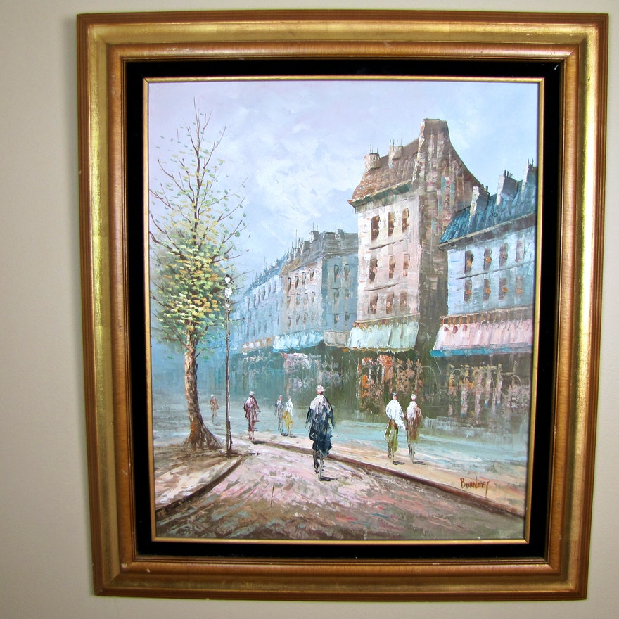 Original Oil Painting Signed by Artist Burney