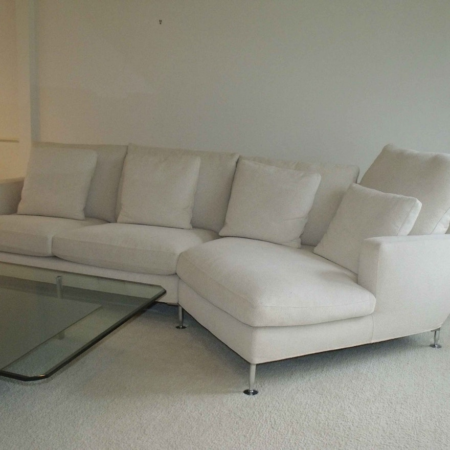 B B Italia Harry Sectional Sofa Designed By Antonio Citterio Ebth