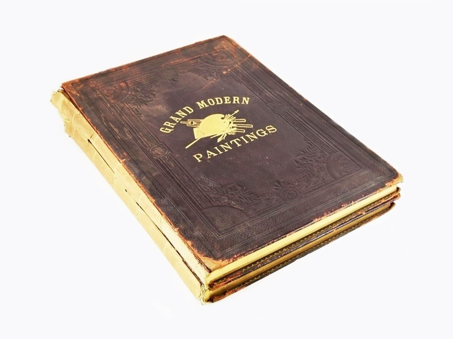 """First Edition """"Grand Modern Paintings..."""", Two Volumes, Haskell 1888 and 1890"""