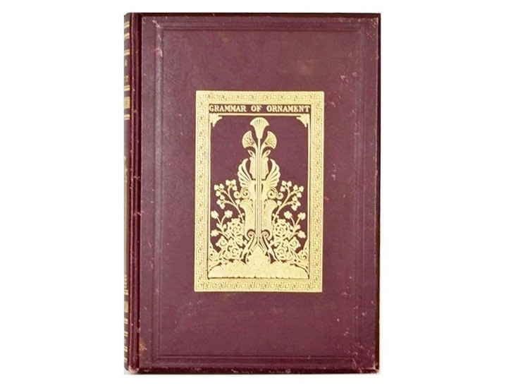 """The Grammar Of Ornament"" by Owen Jones, 1868 Publication"