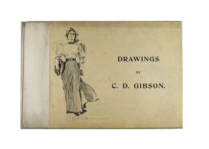 """""""Drawings By C.D. Gibson"""", Published by Russell in 1894, New York"""