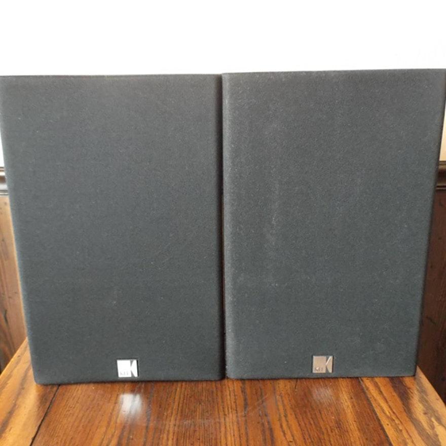 Pair Of KEF C35 Bookshelf Speakers