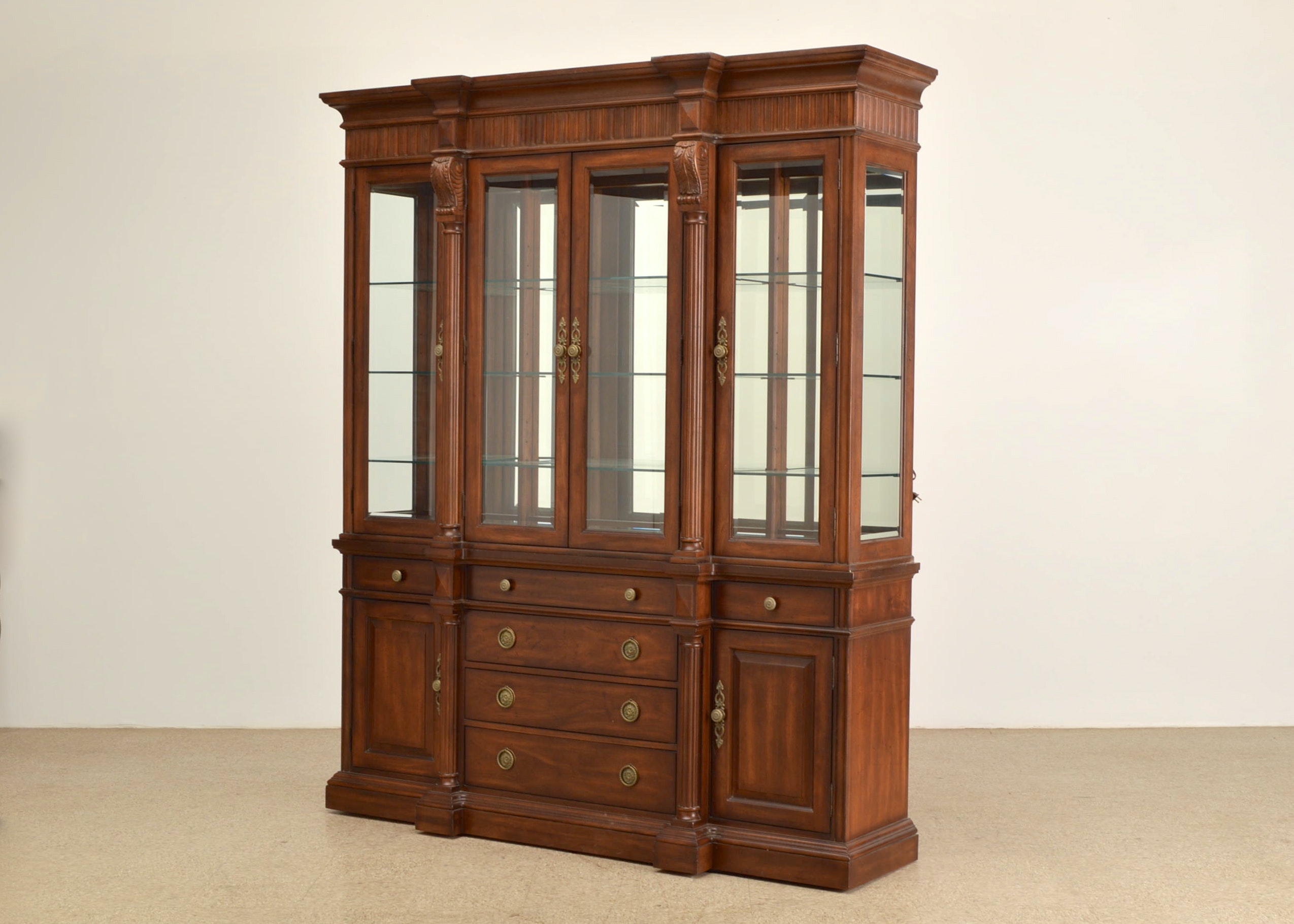 bernhardt furniture china cabinet and hutch