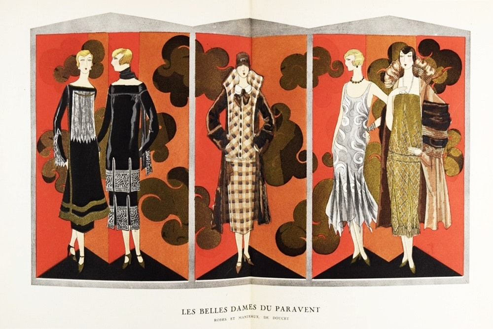 """Gazette Du Bon Ton"" 1924-1925 (No. 2) Art Deco Fashion Magazine"