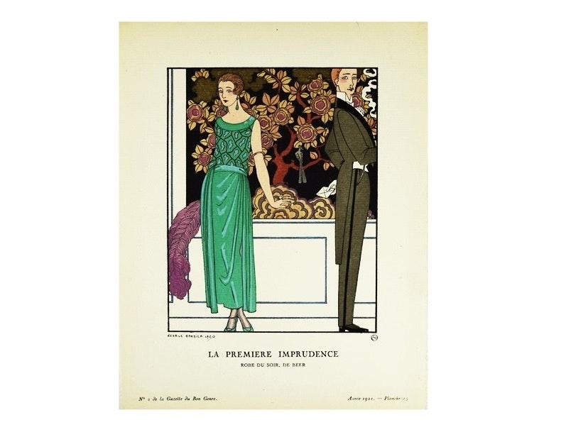 """Gazette du Bon Genre"", 1921 French Art Deco Magazines, No. 1,2,3"
