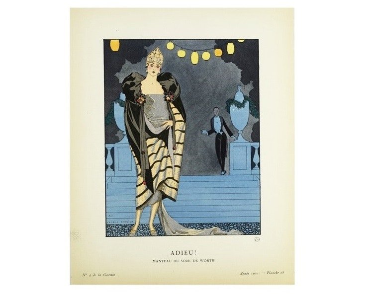 """Gazette du Bon Genre"", 1921 French Art Deco Magazines, No. 4,5,6"