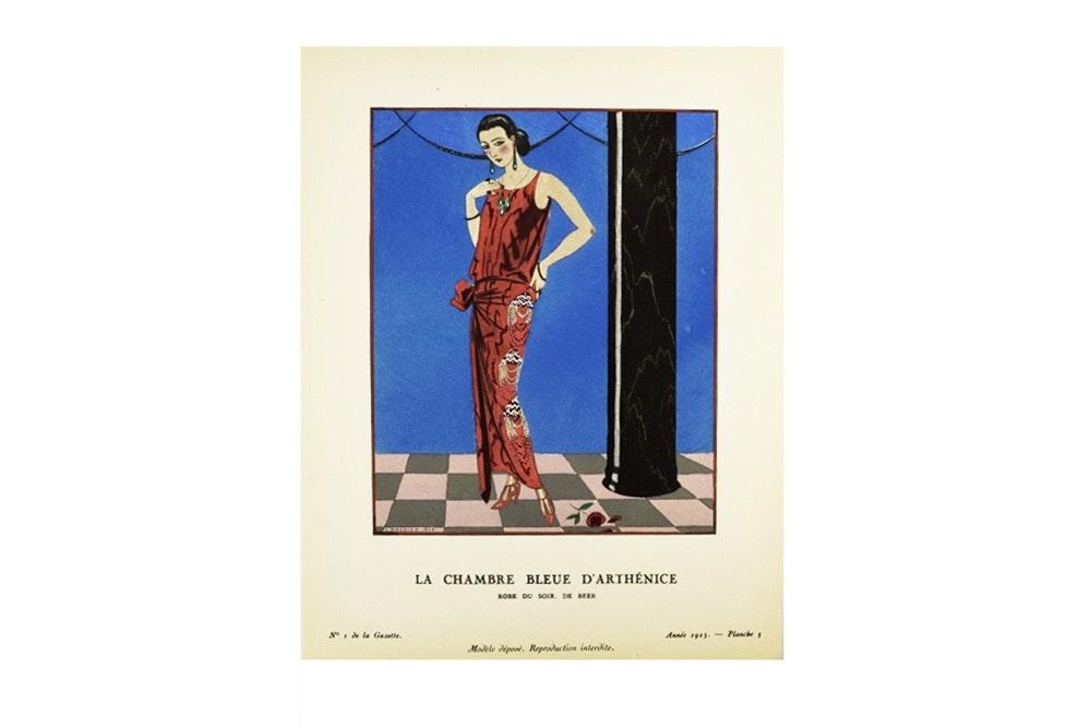 """Gazette Du Bon Ton"" 1923-1924 French Art Deco Fashion Magazines"
