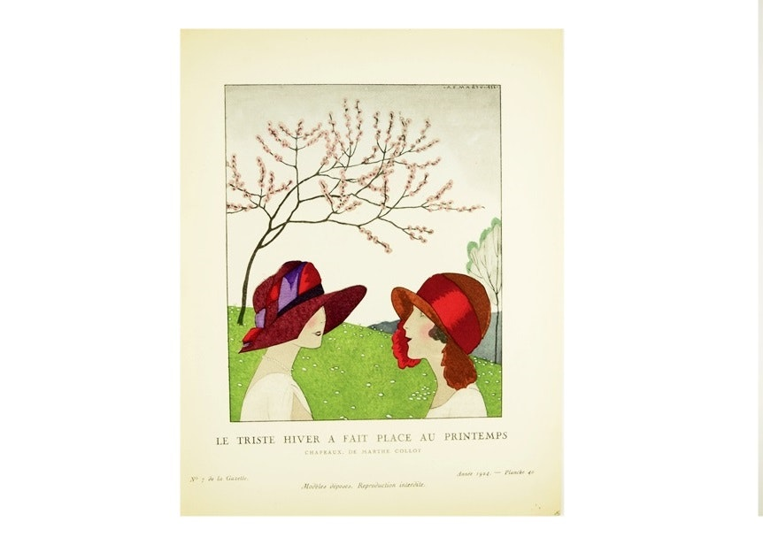 """Gazette Du Bon Ton"" 1924, French Art Deco Magazine, 4 Volumes"