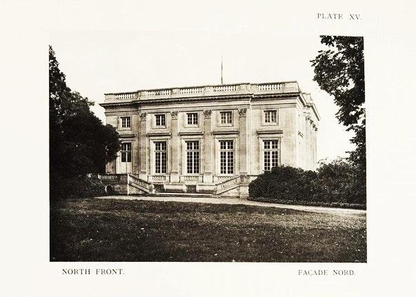 """The Petit Trianon Versailles"" Part III by Arnott & Wilson, 1908"