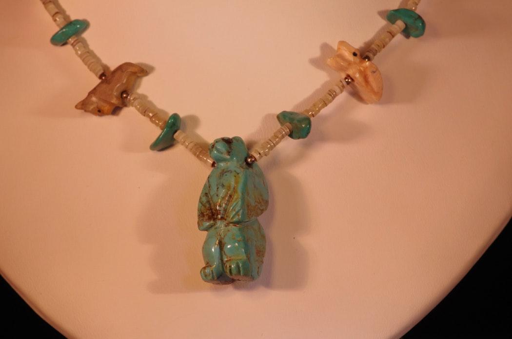 Zuni Fetish Beads 45