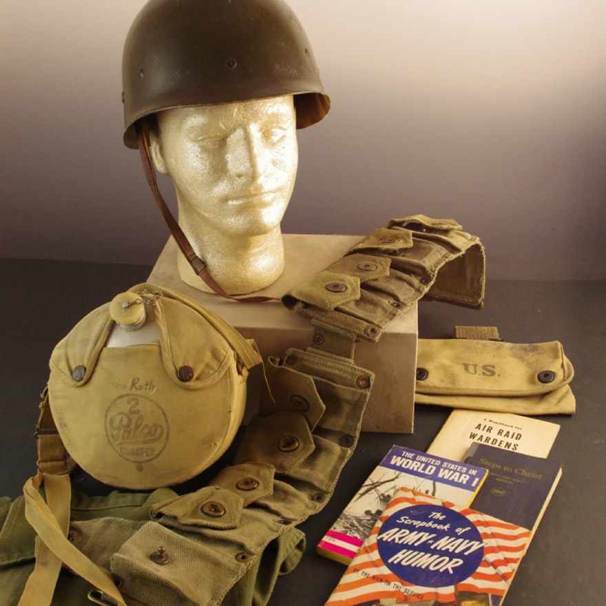 Collection of WWII Memorabilia, and other Militaria