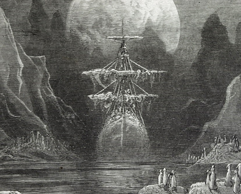 """The Rime Of The Ancient Mariner"", by S. Coleridge, Illustrated by G. Dore, 1883"