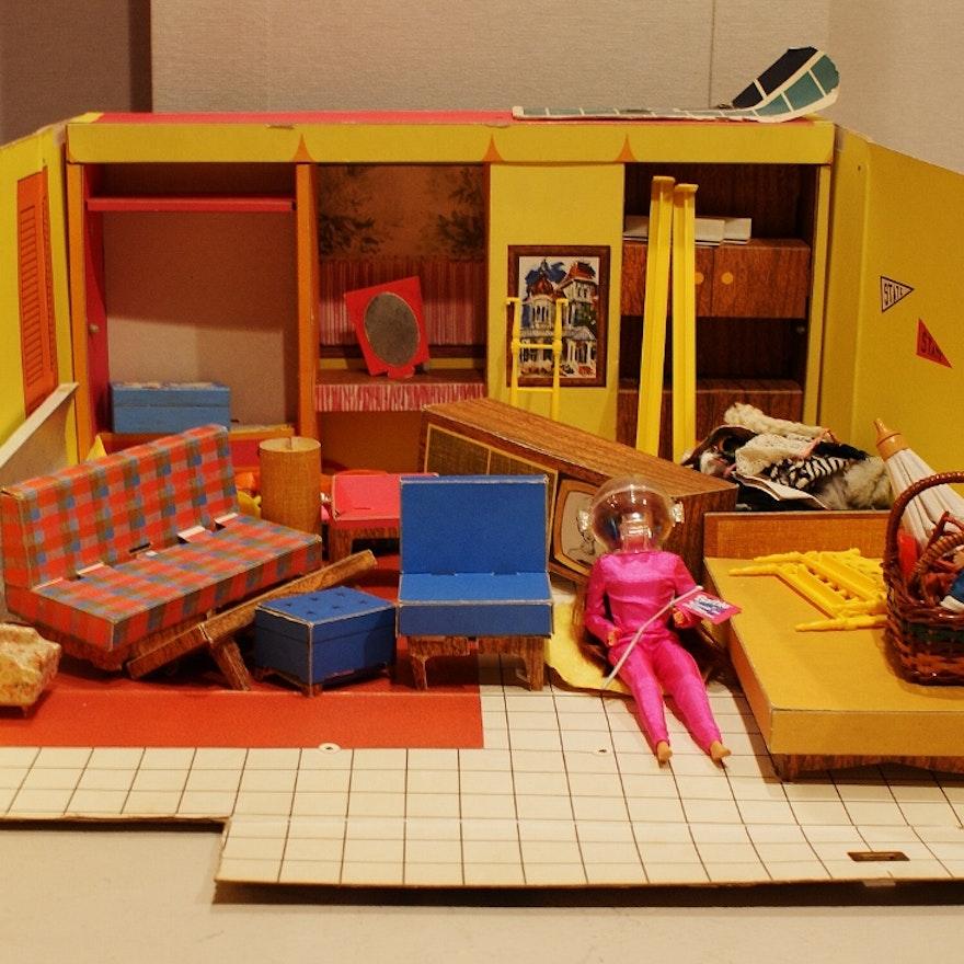1960s Vintage Barbie Dream House EBTH