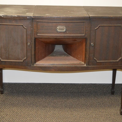 Pathe Phonograph - Online Furniture Auctions Vintage Furniture Auction Antique
