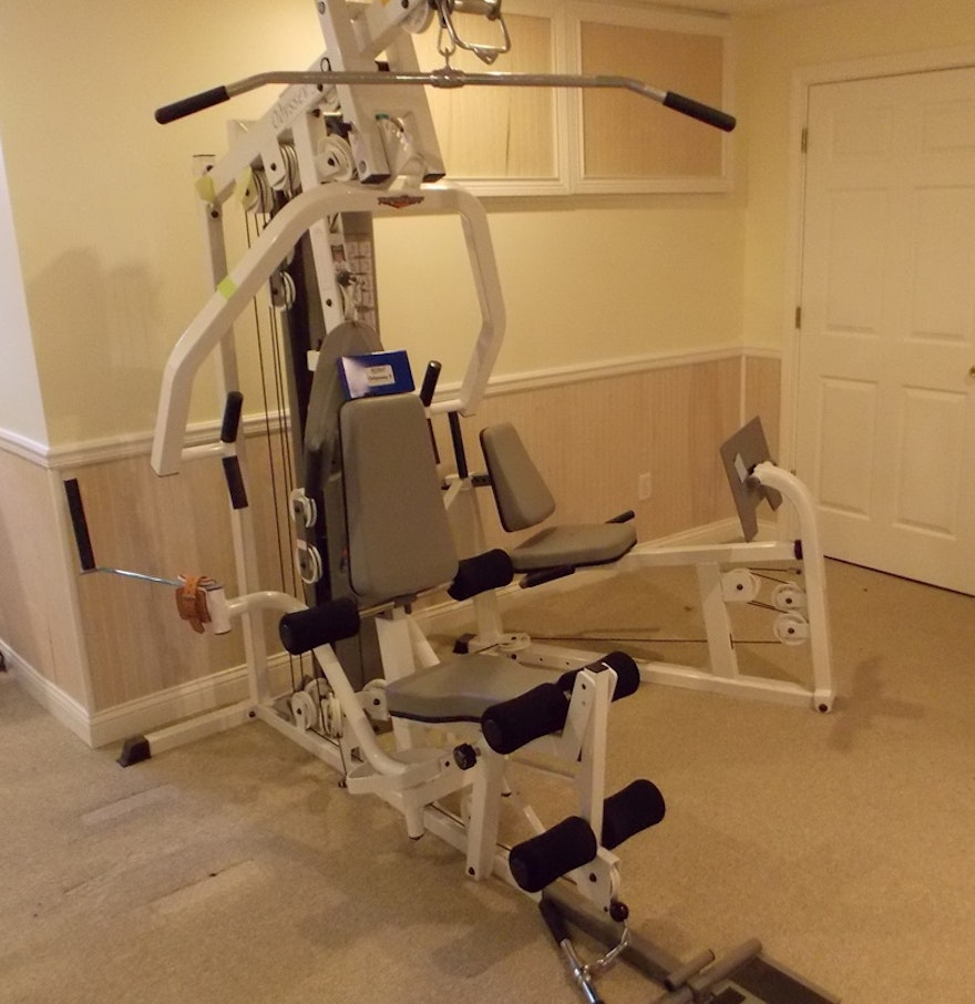 Tuff stuff odyssey home gym with leg press ebth