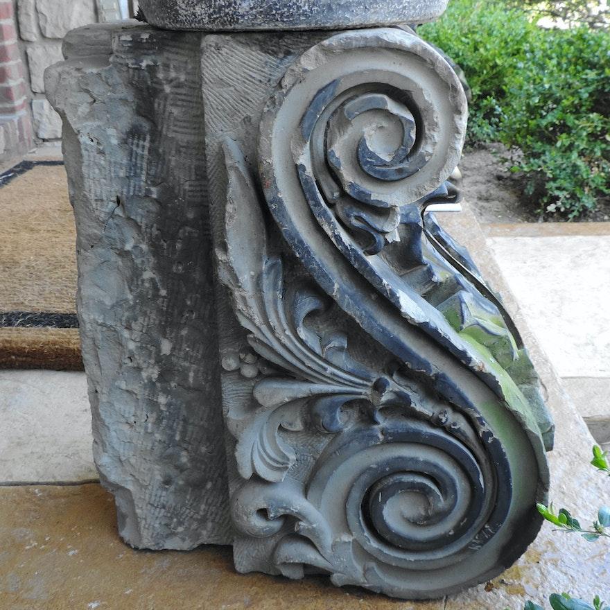 Antique Stone Corbel