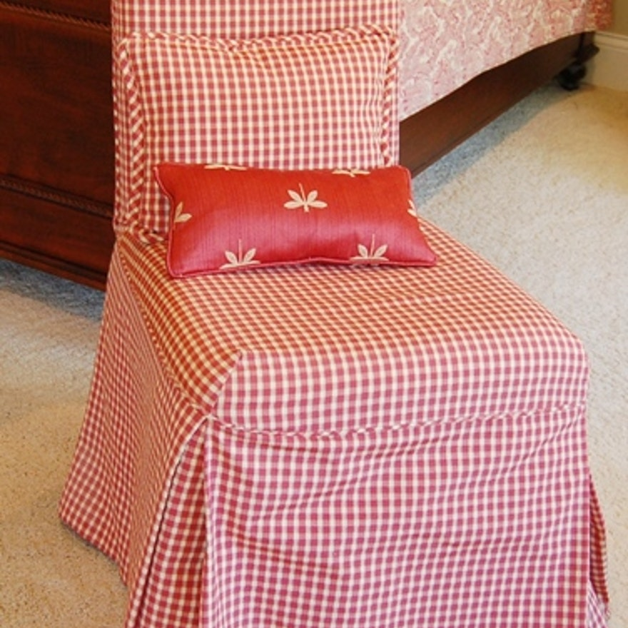 Super Parsons Chair With Red Gingham Chair Cover Andrewgaddart Wooden Chair Designs For Living Room Andrewgaddartcom