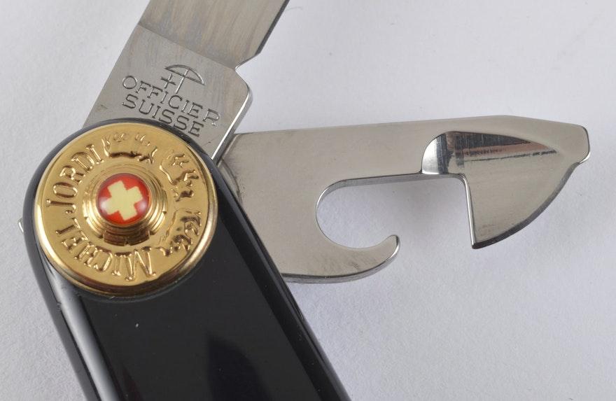 Michel Jordi Victorinox Swiss Army Knife Carrying Case Ebth