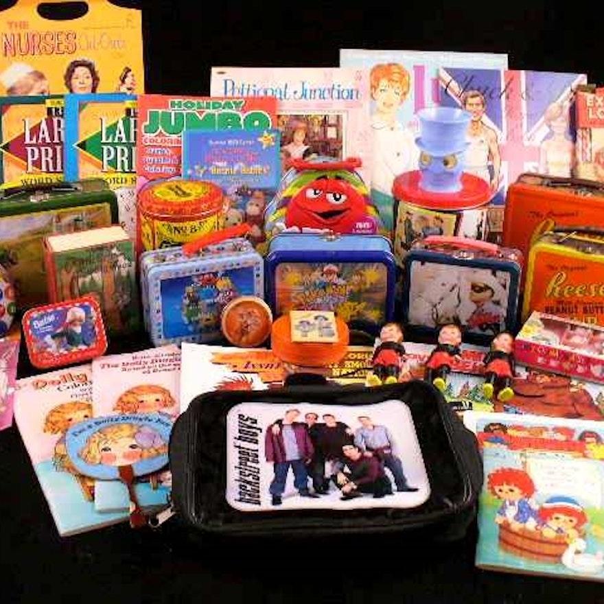 Children\'s Items: Coloring Books, M&M Lunch Boxes, Tea Set, More : EBTH