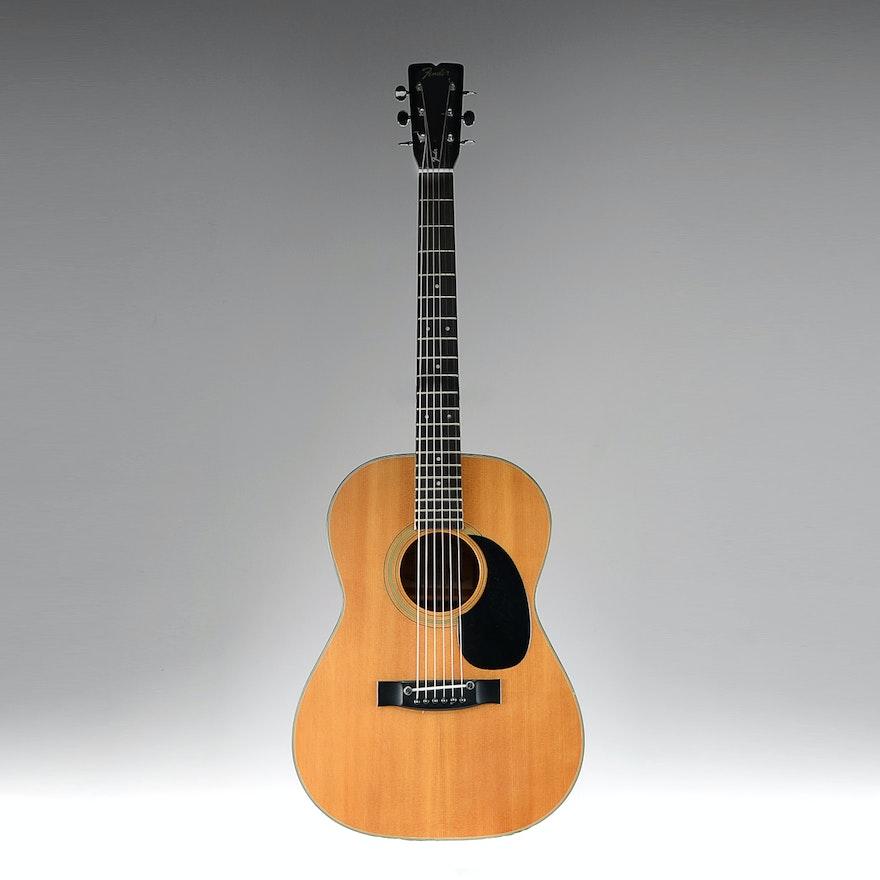 Vintage 1970s Fender F 15 Acoustic