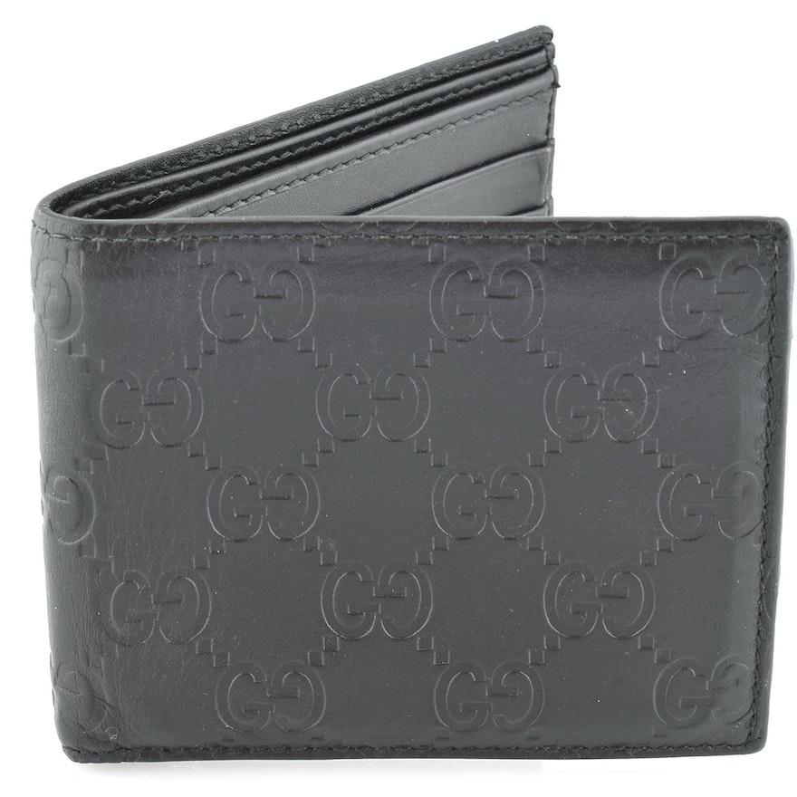 0e329e38c75429 Men's Gucci Guccissima Leather Wallet : EBTH