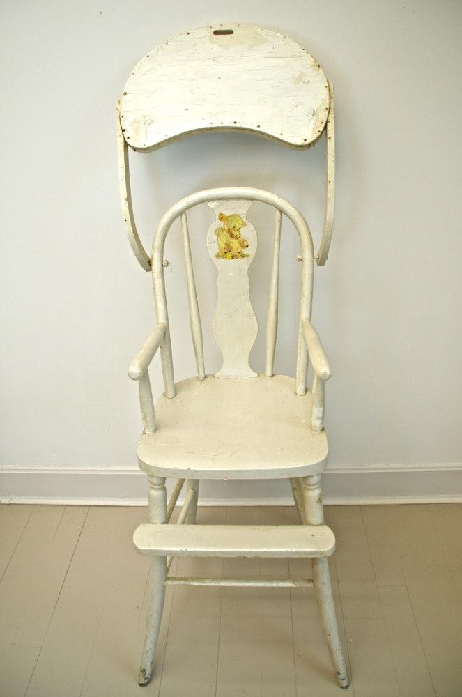 Circa 1930s High Chair Ebth