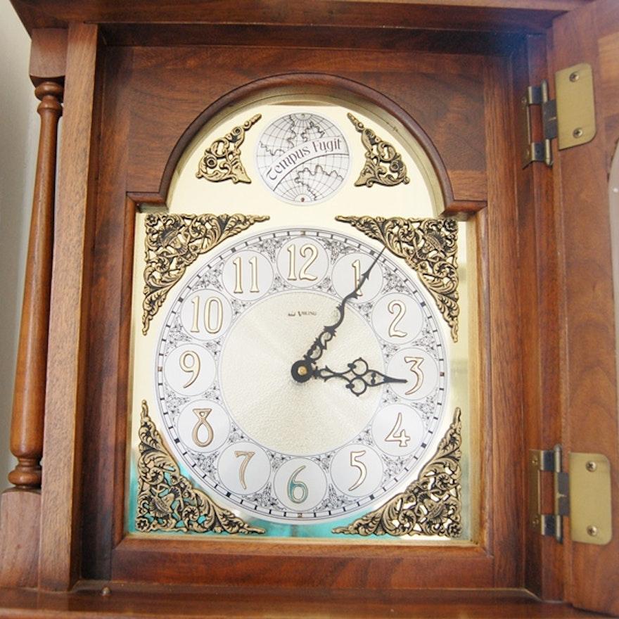 Viking Grandfather Clock