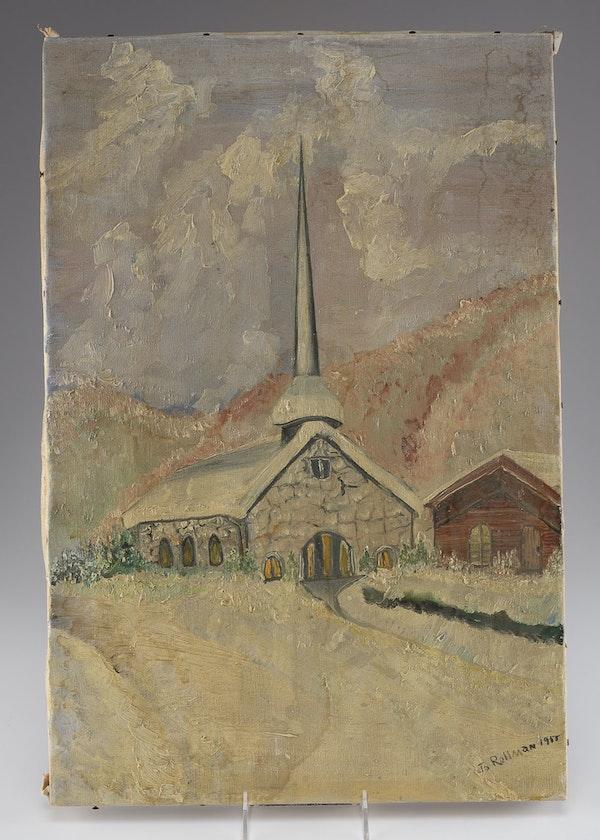 Religious Oil Paint Artist Ohio