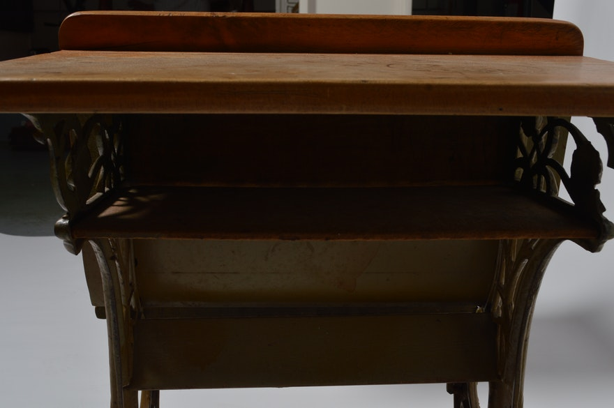 Vintage Buffalo Hardware Company School Desks Ebth