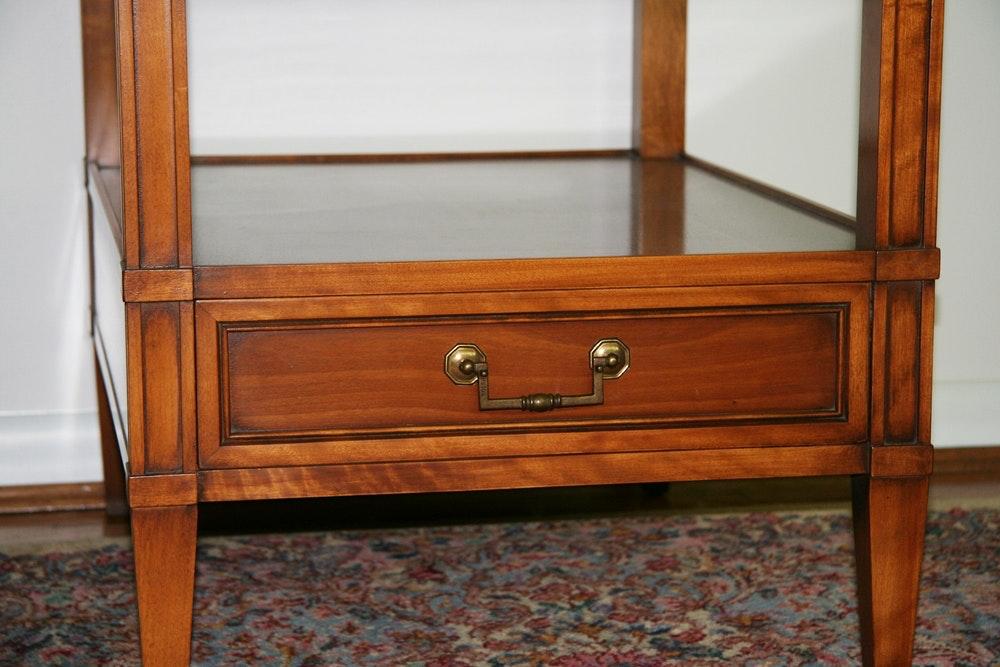 Vintage Hekman Furniture End Tables Ebth