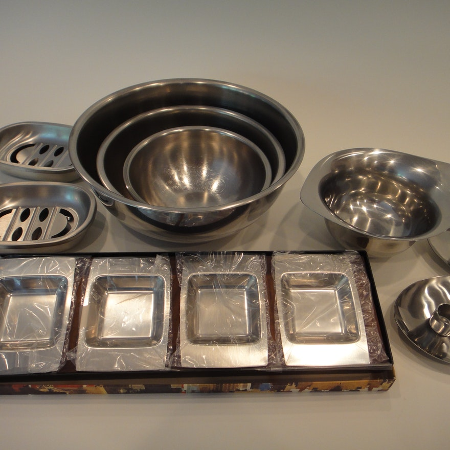 Vollrath Stainless Steel Bowls and More : EBTH