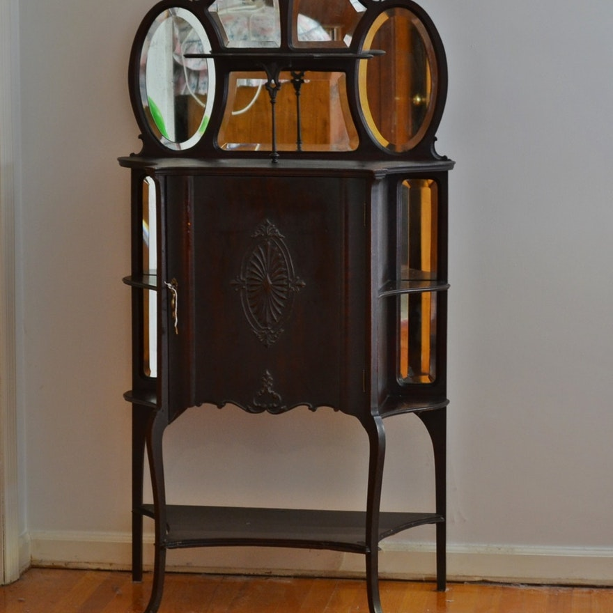 - Antique Victorian Style Sheet Music Cabinet : EBTH