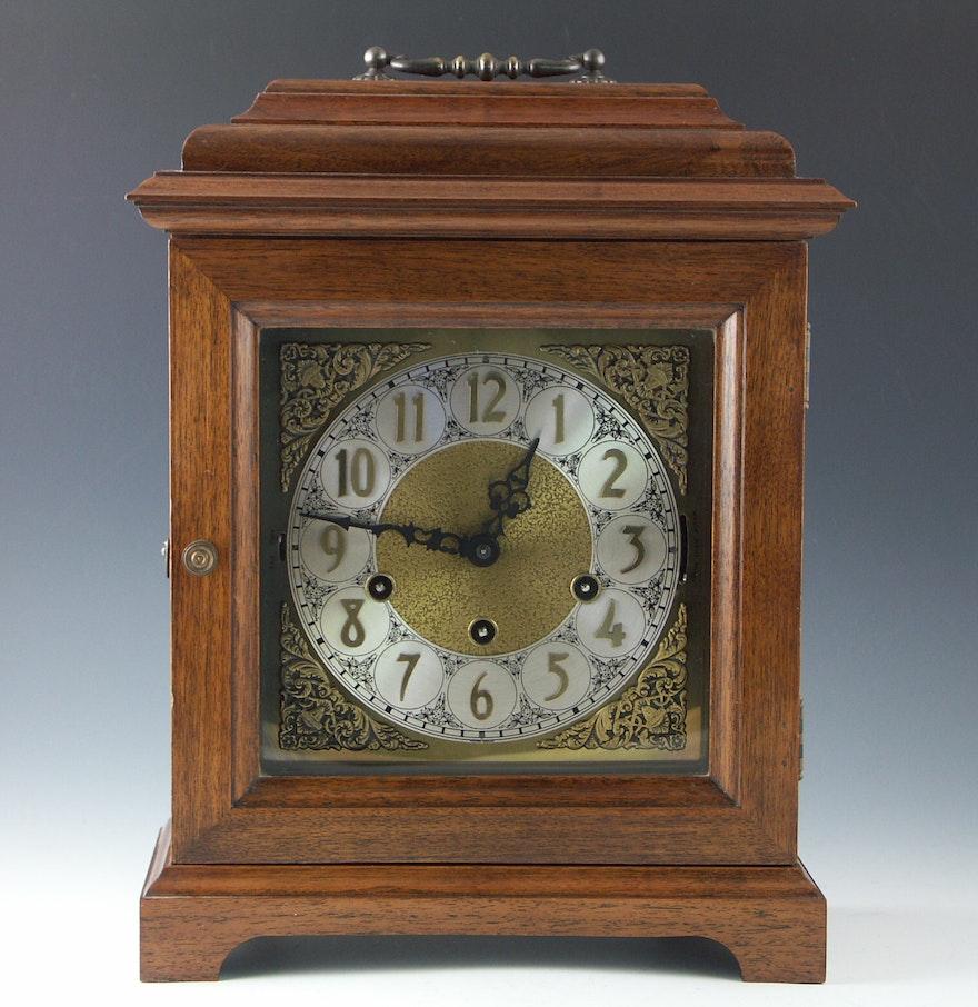 Urgos mahogany western german carriage clock ebth urgos mahogany western german carriage clock amipublicfo Choice Image