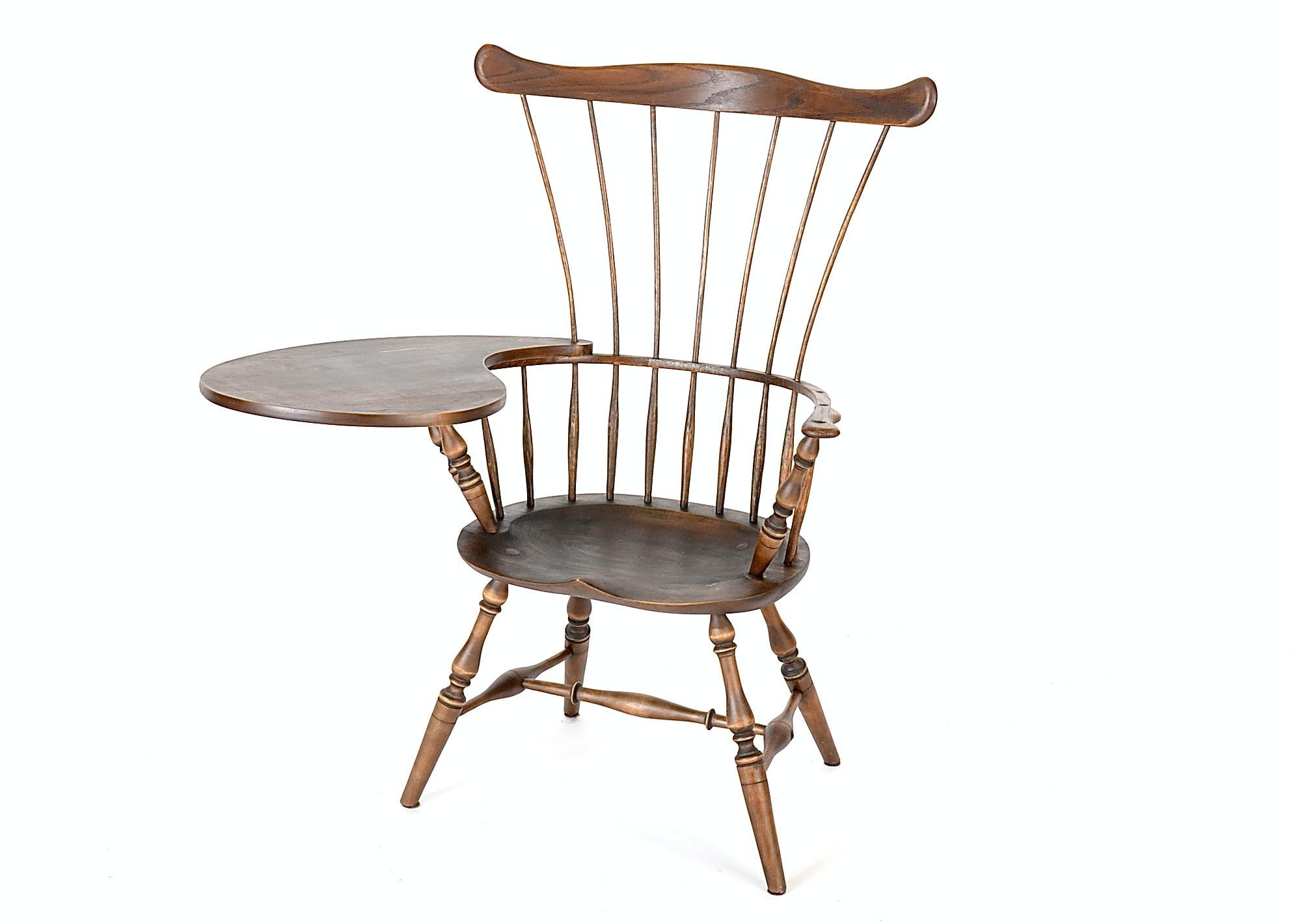 a writingarm windsor chair