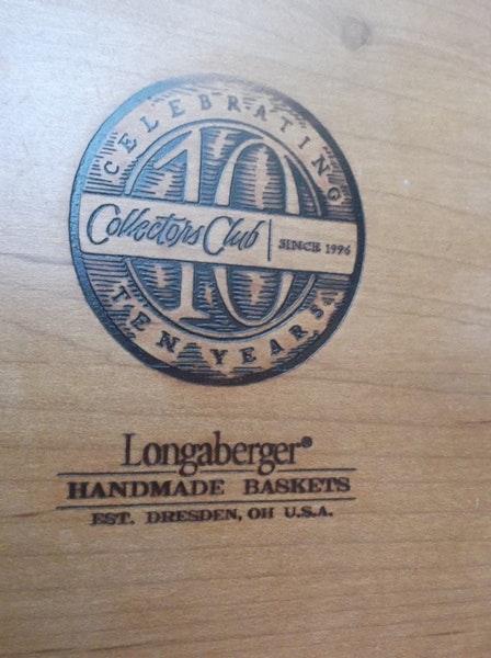 Longaberger 2007 Collectors Club Champagne Basket : EBTH