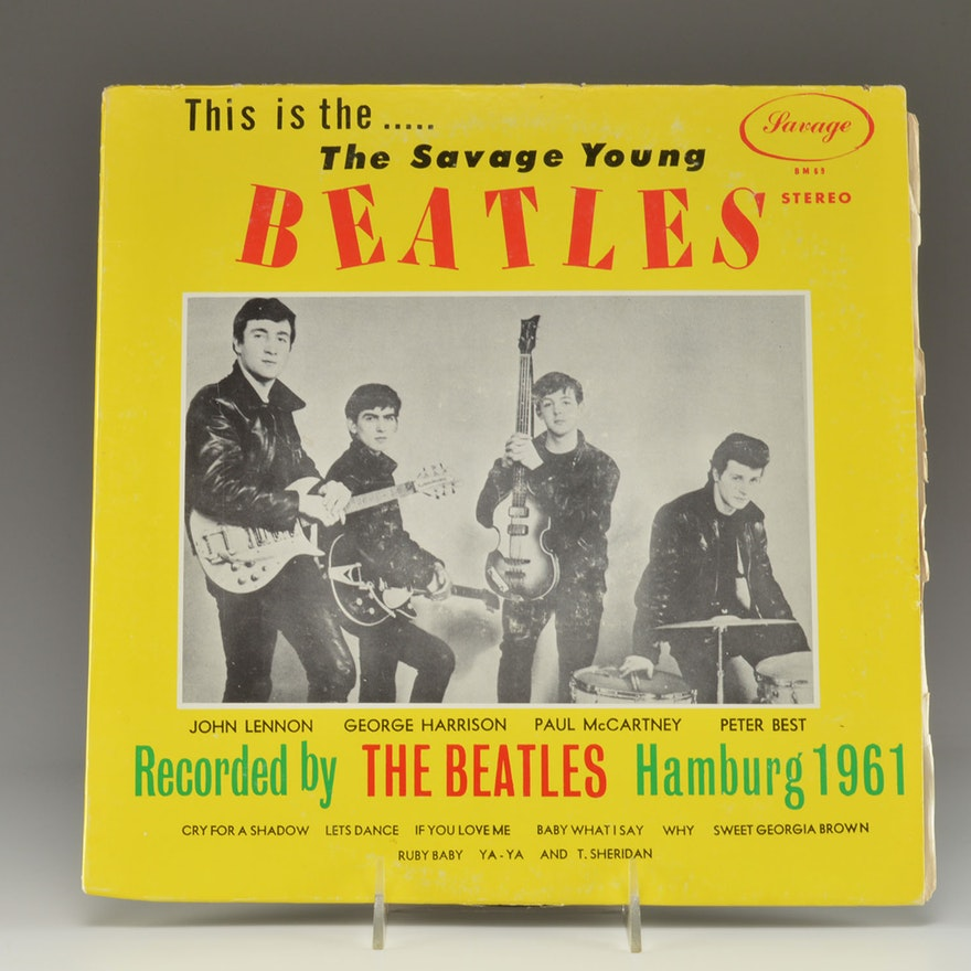 Rare Vintage Beatles Vinyl Album Ebth