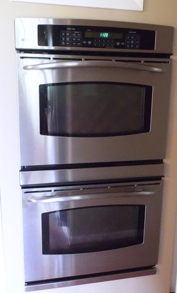 Stainless Steel General Electric Profile Double Wall Oven