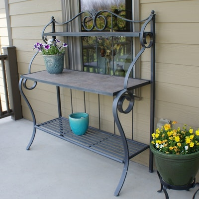 ethan allen potting station - Garden Furniture Lebanon