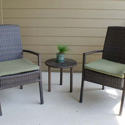 faux wicker seating group - Garden Furniture Lebanon