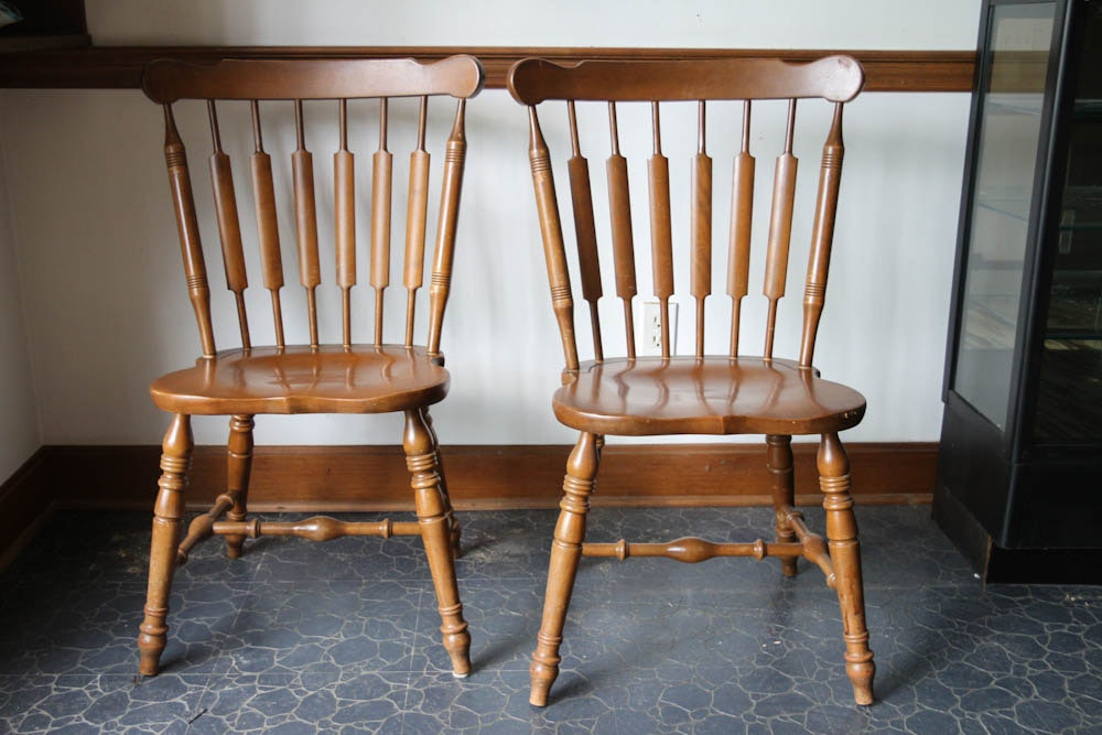 Temple Stuart Rockport Maple Chairs ...
