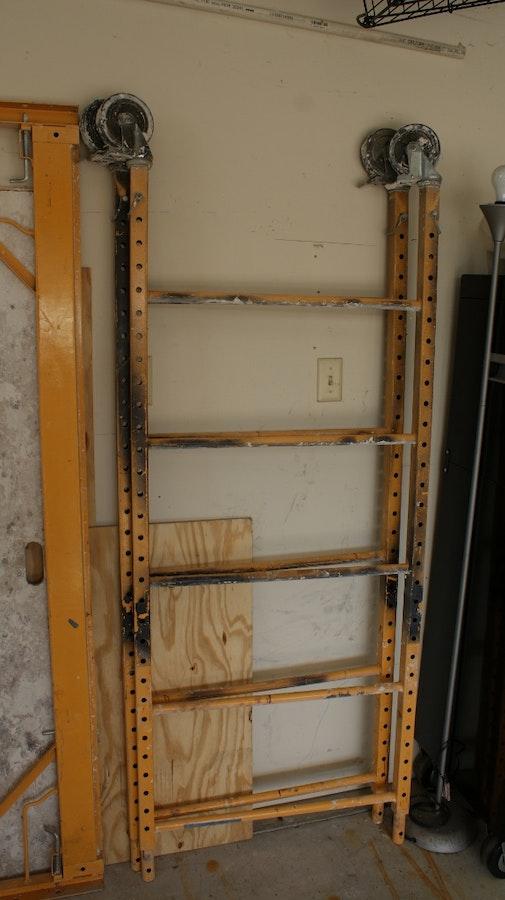 Expandable Walk Boards : Metal scaffolding and aluminum walk board ebth