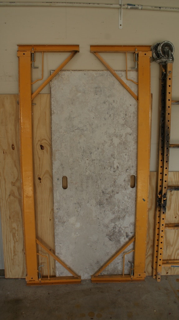 Aluminum Scaffold Walk Board : Metal scaffolding and aluminum walk board ebth