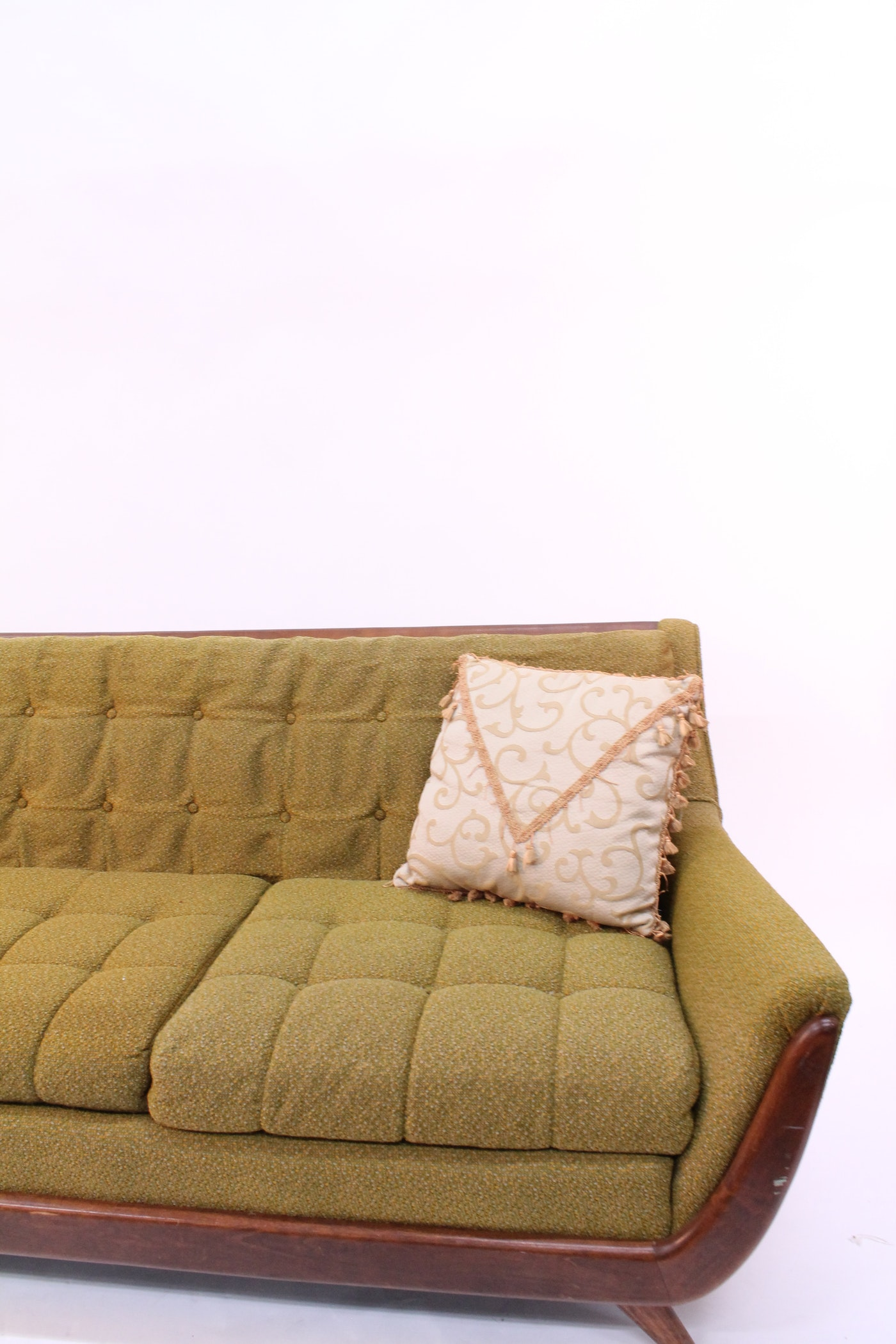 Mid Century Adrian Pearsall Style Sofa Ebth