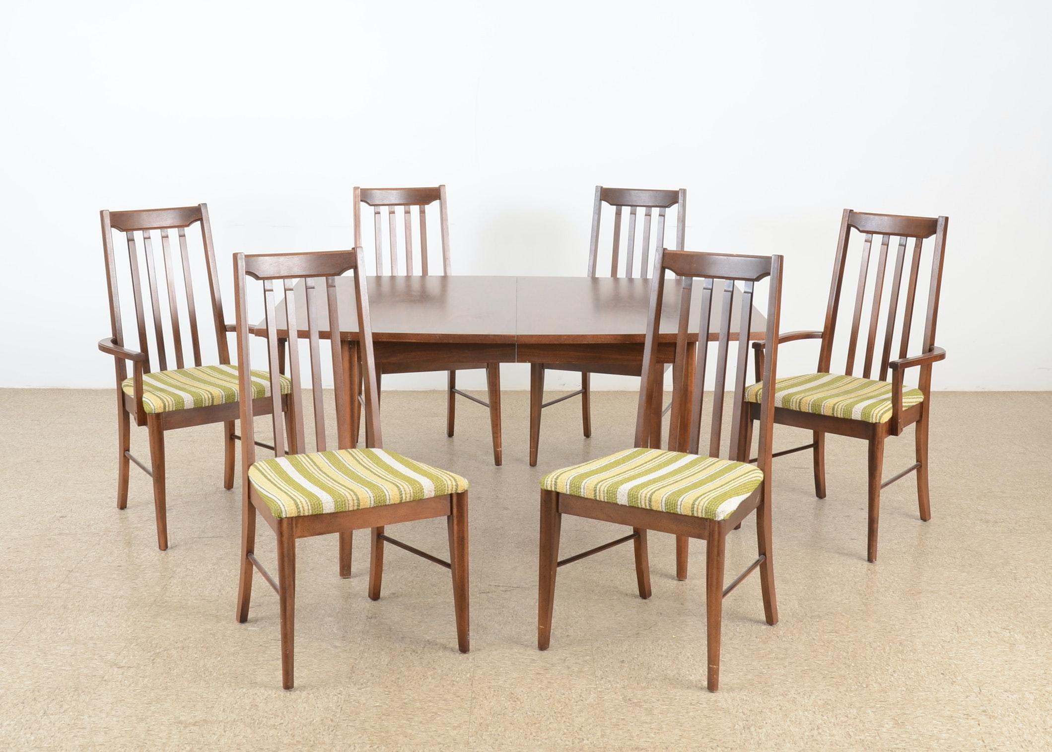 broyhill furniture dining room set circa 1950s ebth broyhill hepplewhite style federal dining room set chairish