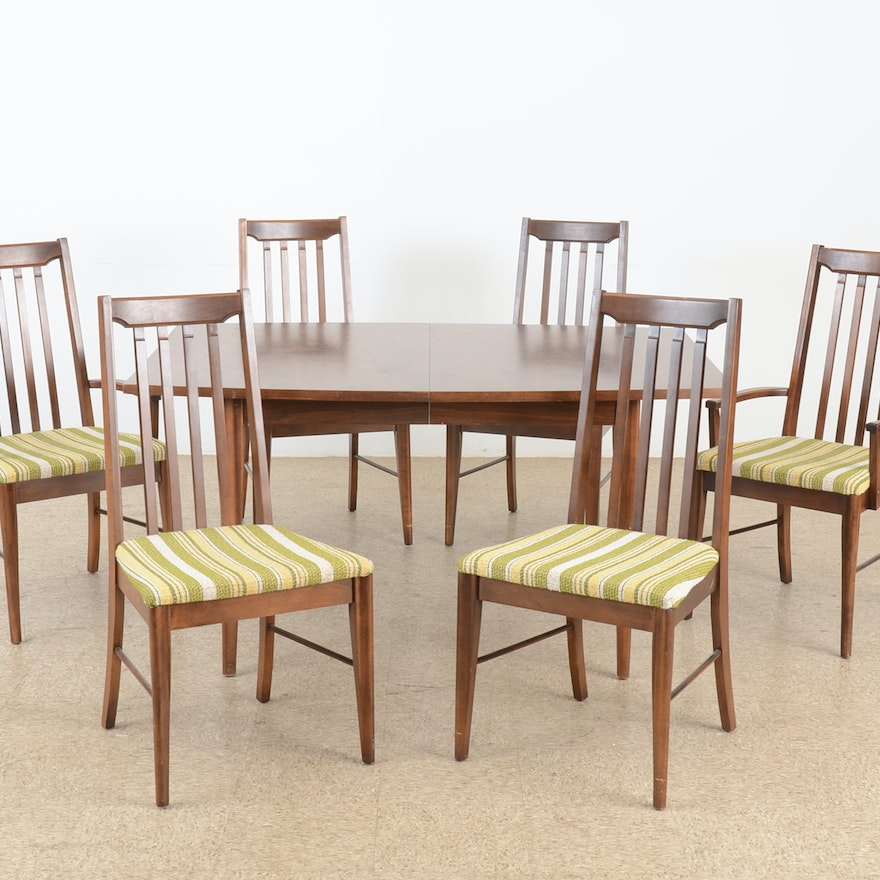 Broyhill Furniture Dining Room Set Circa 1950s Ebth