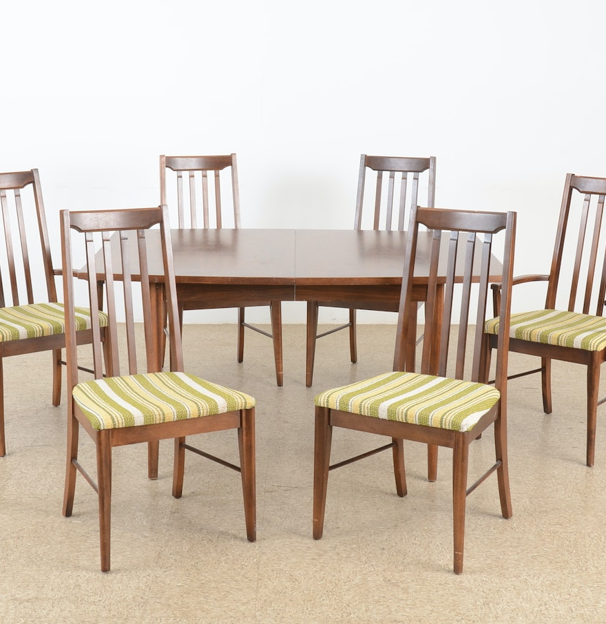 Mid Century Dining Room Set For Sale